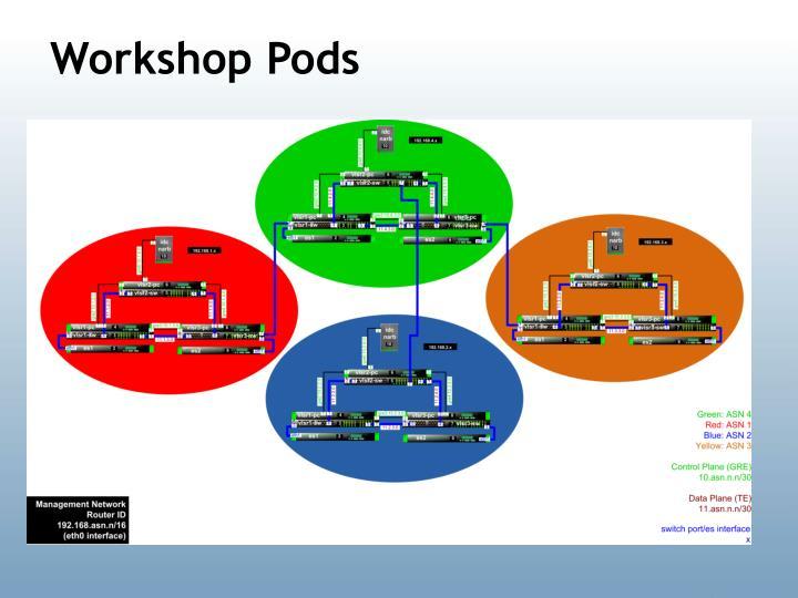 Workshop Pods