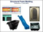 structural foam molding thick parts inch 6mm