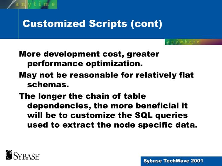 More development cost, greater performance optimization.
