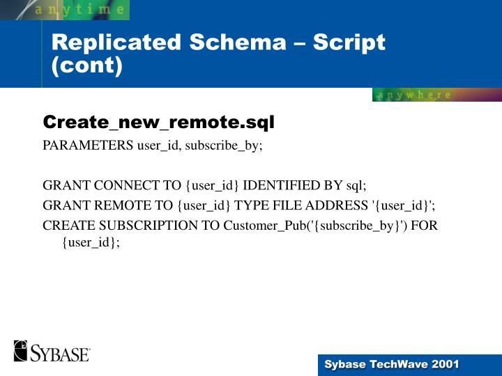 Create_new_remote.sql