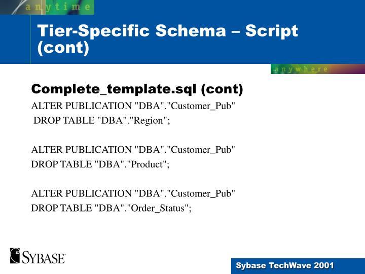 Complete_template.sql (cont)