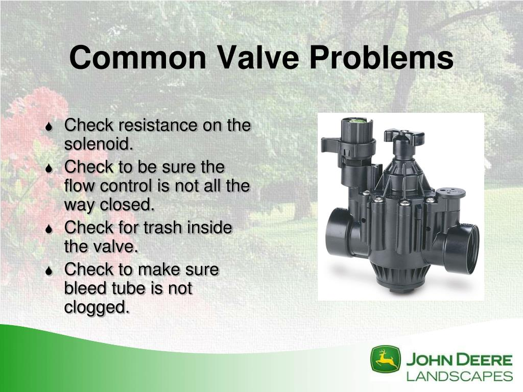 PPT - Irrigation Troubleshooting: PowerPoint Presentation