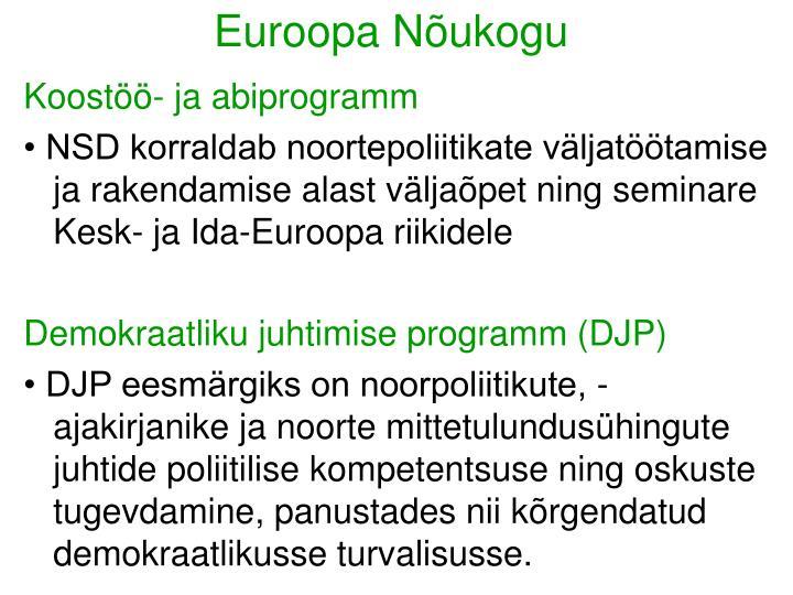 Euroopa Nõukogu