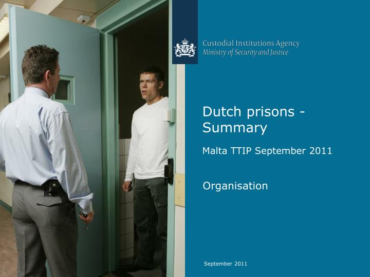 dutch prisons summary n.