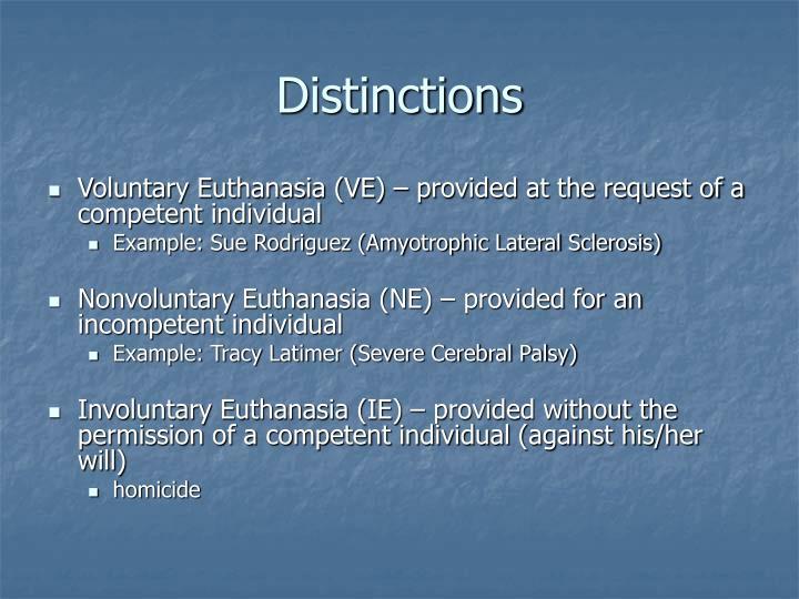 passive euthanasia examples