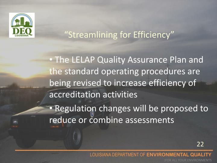 """Streamlining for Efficiency"""