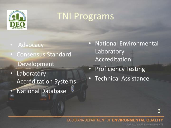 Tni programs