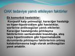 oak tedaviye yan t etkileyen fakt rler1
