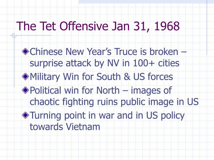 The tet offensive jan 31 1968