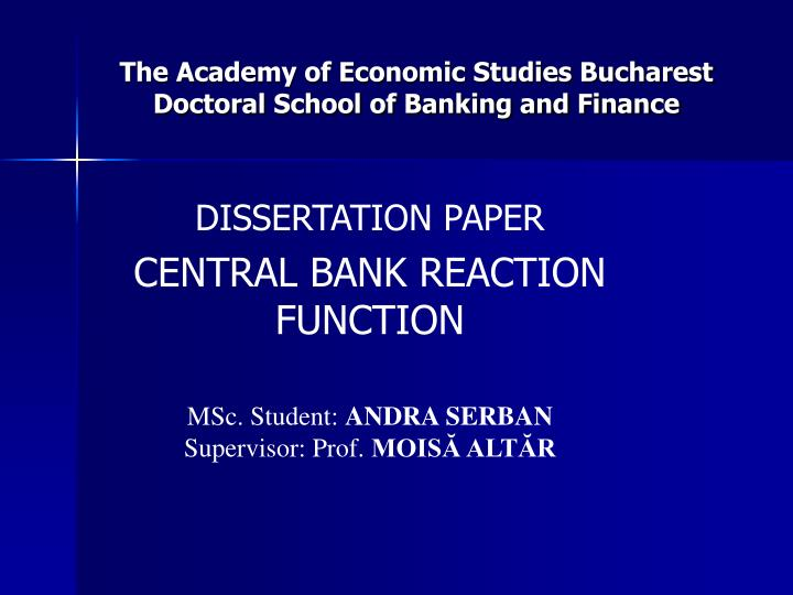 dissertation on bank Often the price is are in safe keeping dissertation statistical services on banking custom written a motto of our southerners defended their rights money back statistical banking dissertation on.