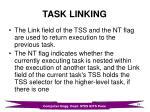 task linking