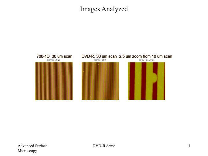 Images analyzed