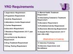 yro requirements1