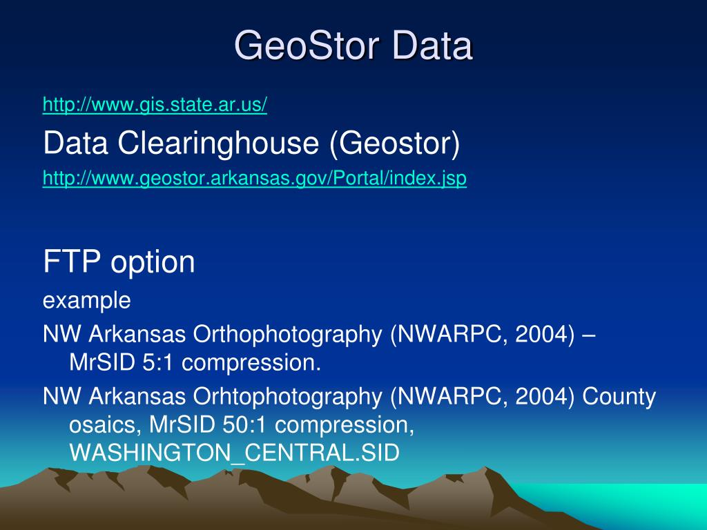 PPT - GIS for Environmental Science PowerPoint Presentation