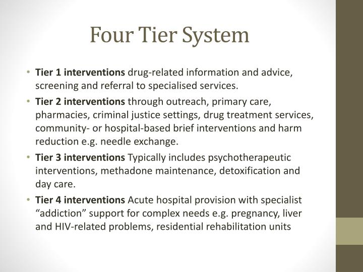 Four Tier System