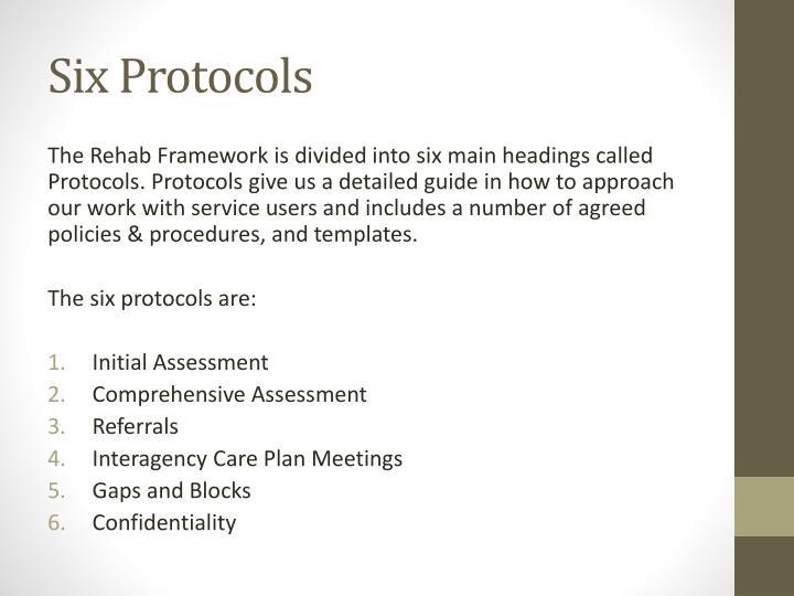 Six Protocols