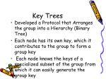 key trees