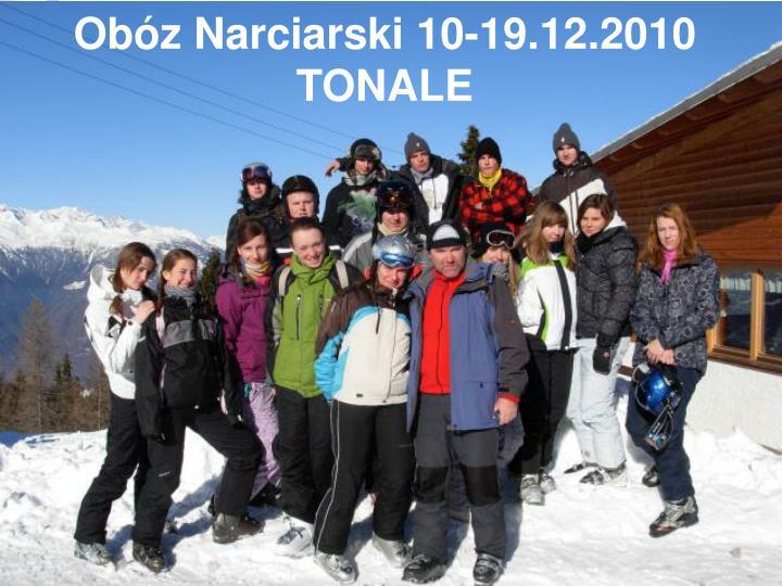 ob z narciarski 10 19 12 2010 tonale n.