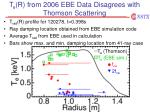 t e r from 2006 ebe data disagrees with thomson scattering