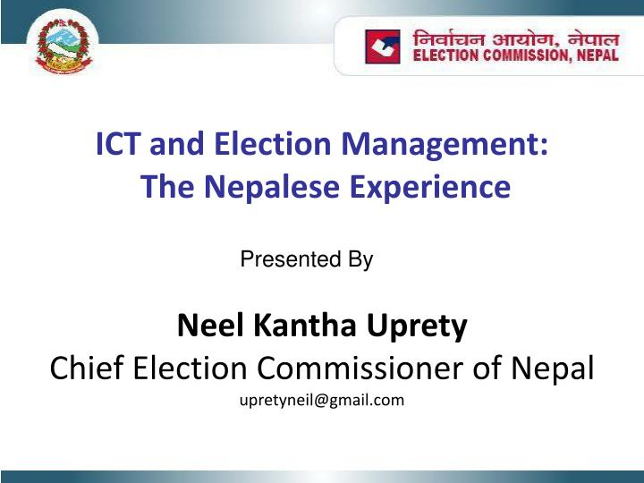ICT and Election Management: