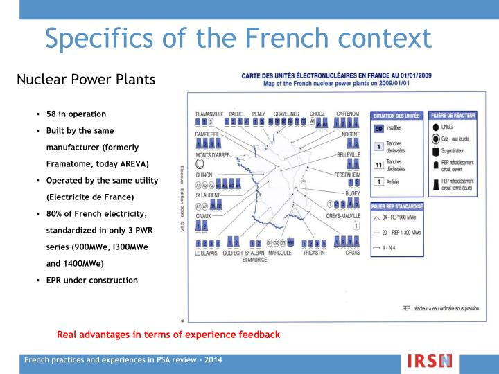 Specifics of the French context