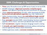 ssm challenges opportunities