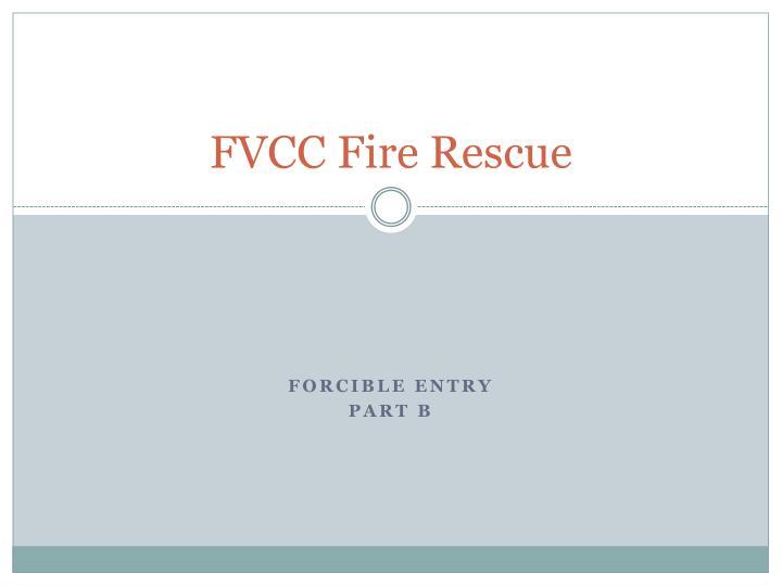 fvcc fire rescue n.