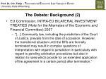the debate background 2