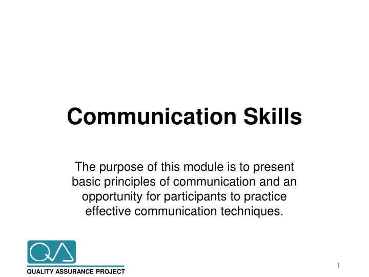 Ppt  Communication Skills Powerpoint Presentation  Id