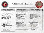 pm ice active projects