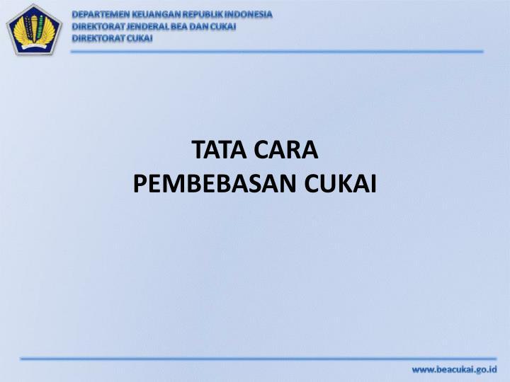 TATA CARA
