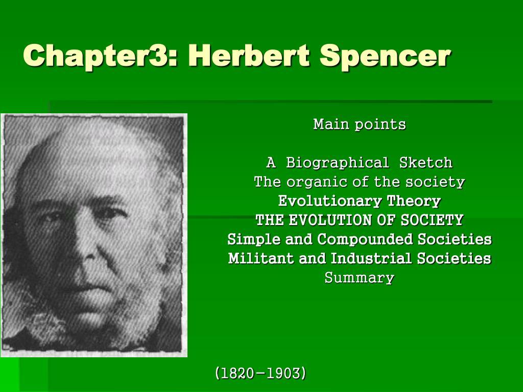 autobiography herbert spencer
