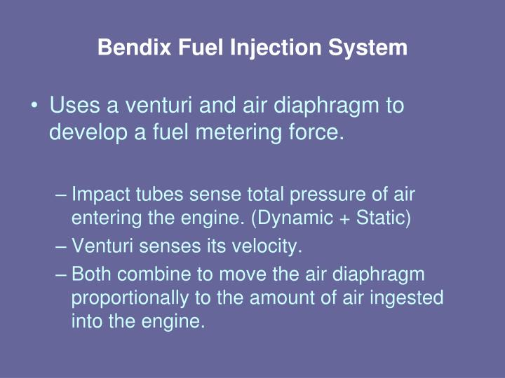 Bendix Fuel Injection System