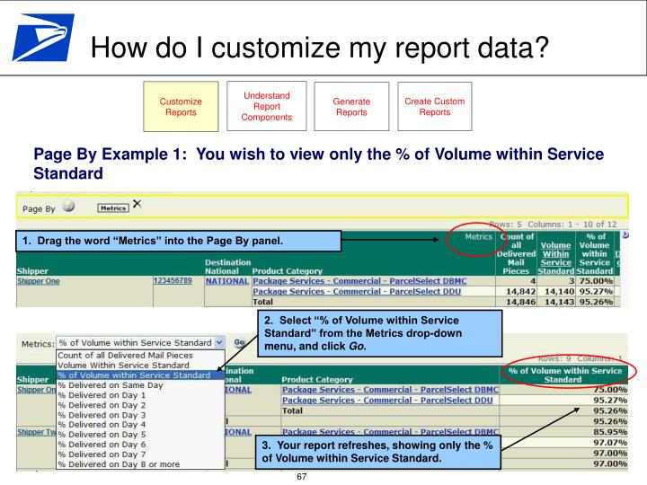 Understand Report Components