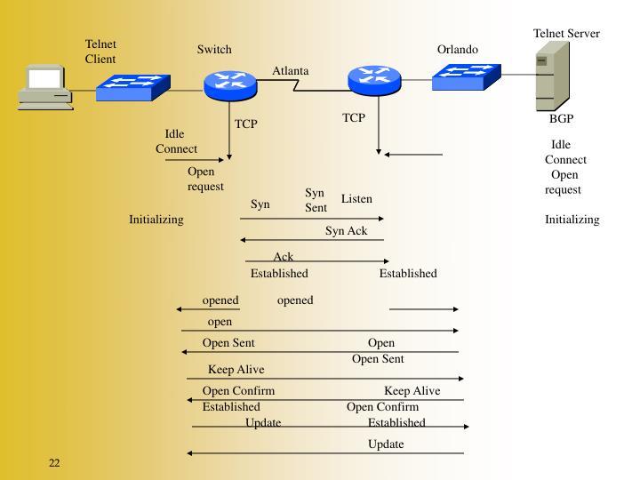 Telnet Server