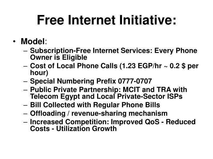 Free Internet Initiative: