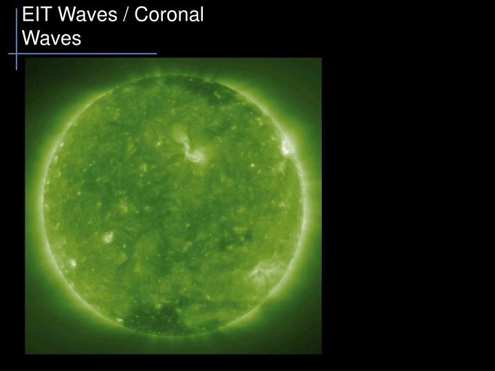 EIT Waves / Coronal Waves