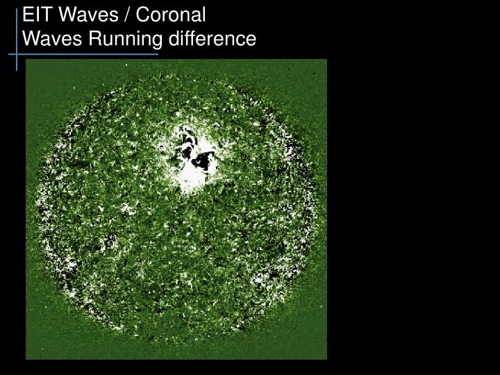 EIT Waves / Coronal Waves Running difference