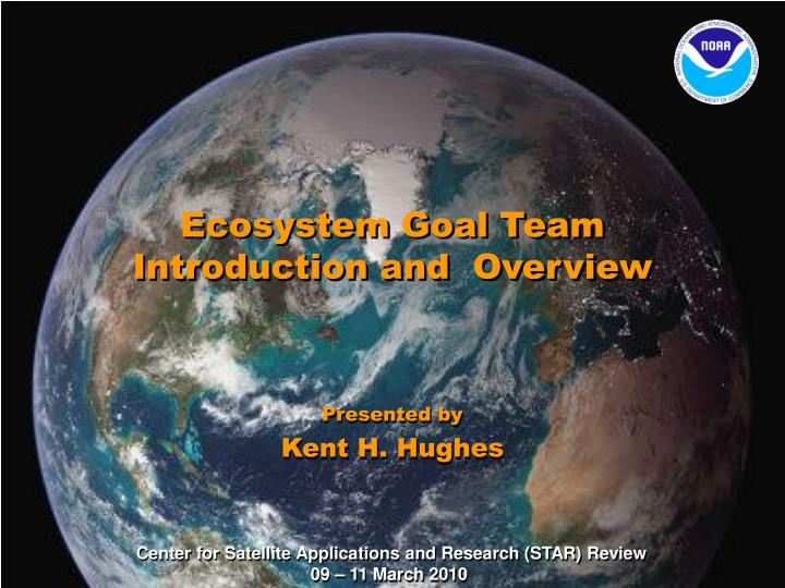 ecosystem goal team introduction and overview