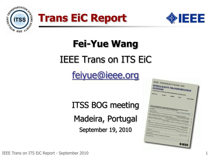 trans eic report