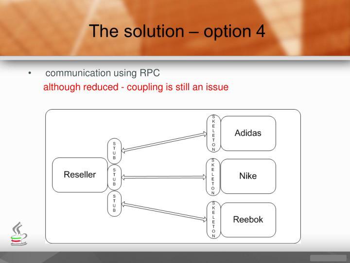 communication using RPC