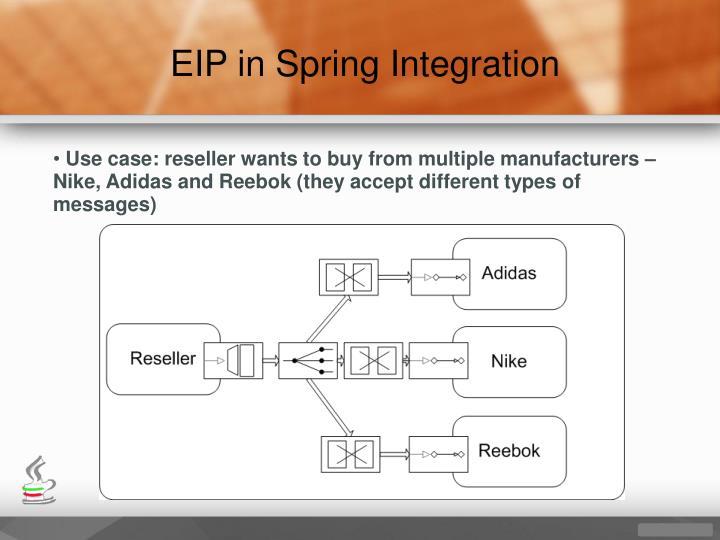 EIP in Spring Integration