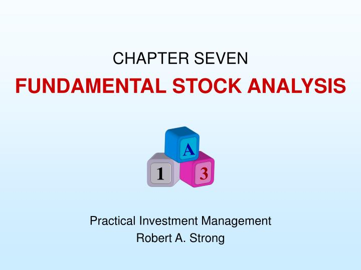 Fundamental stock analysis