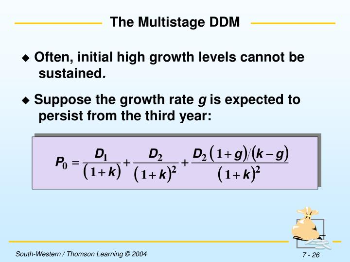 The Multistage DDM