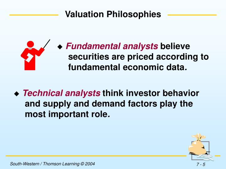 Valuation Philosophies