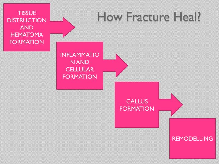 TISSUE DISTRUCTION AND HEMATOMA FORMATION