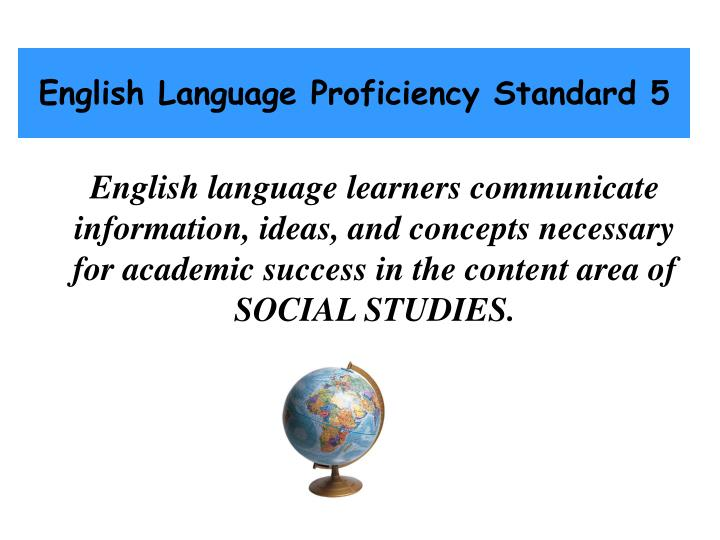 alignment of academic standards with ell proficiency standards 2 Alignment of academic standards with ell proficiency standards 1)  ilus/bilingual/htmls/elp_standardshtm 2)  and alignment of the ell proficiency standards.