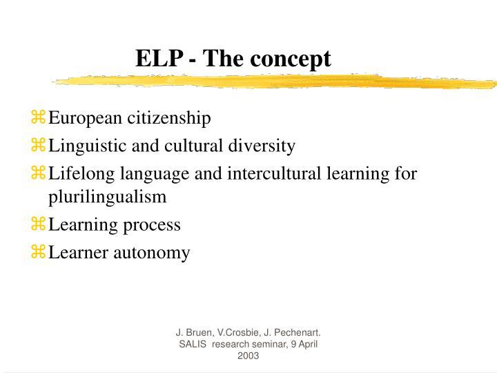 Elp the concept