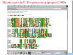 flavodoxin chey pre processing prepro 1500