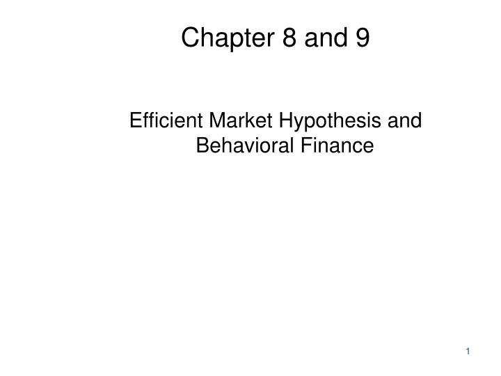 chapter 8 and 9 n.
